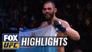 UFC Argentina: Santiago Ponzinibbio KO's Neil Magny En Route To 4th Round Win, Lamas, Pantoja Get Top 15 Wins | Highlights