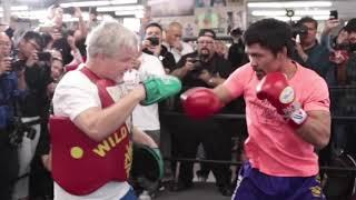 Manny Pacquiao vs. Adrien Broner Conference Call Highlights