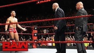 Triple H announces that he'll be joining Kurt Angle on the Survivor Series RAW team.
