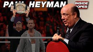 Paul Heyman On CM Punk Partnership: I Told Him We'd Be Fired In Four Weeks