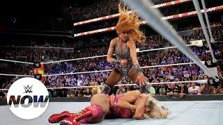 Becky Lynch turned on Charlotte Flair at Summerslam