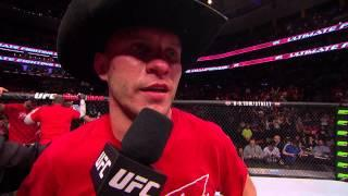Donald Cerrone after one of his many UFC wins.