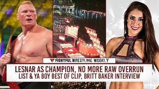 Fightful Wrestling Weekly (11/9): Raw Overrun, Brock Lesnar, Crown Jewel News, Amann, More