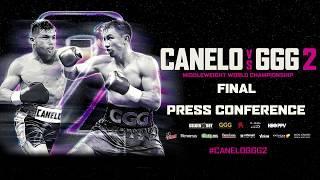 Canelo vs. GGG 2 Final Press Conference Live Stream