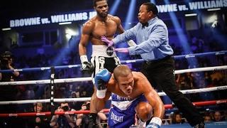 Marcus Browne Obliterates Williams Jr. in 6, Sends Message to Light Heavyweight Division