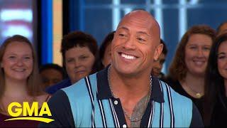 The Rock Says He's A Fan Of Drew McIntyre, Believes He Has A Great Build And Look