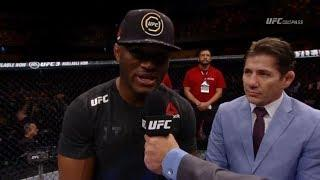 Kamaru Usman Wants To Hurt Colby Covington Inside Of The Octagon