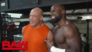 Apollo Crews Talks Wrestling Kurt Angle In One Of His Last Matches