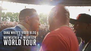 Dana White's Video Blog   MAY/MAC WORLD TOUR   Ep. 4