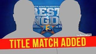 Zack Sabre Jr. vs. Tomohiro Ishii Added To Wrestle Kingdom 13