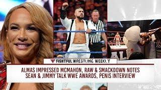 Fightful Wrestling Weekly (9/14): Andrade Cien Almas, Penis Druids, Jeff Hardy, 205 Live, AOP, Raw-SD