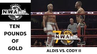 IN GOOD HANDS | NWA Ten Pounds of Gold 39 | Nick Aldis vs. Cody Rhodes 2 (2018)