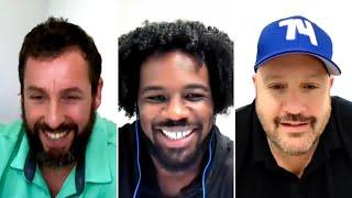 Xavier Woods Talks With Adam Sandler, Triple H Sending Custom WWE Title To WNBA Champions | Fight-Size Update