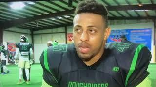Recent UFC Signee Greg Hardy Injured In American Arena League Football Game
