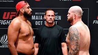 Report: Justin Tafa Faces Raphael Pessoa At UFC Fight Night: Whittaker vs. Till