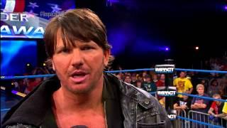 AJ Styles Discusses TNA Wanting Him To Take A Pay Cut In 2013