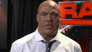 Kurt Angle Comments On Recent WWE Releases; Says Talent Level Is So High, Unhappy Stars Want Out