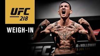UFC 218: Official Weigh-in