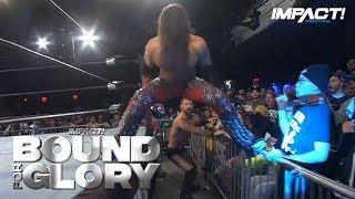IMPACT Wrestling 'Bound For Glory' Match Times