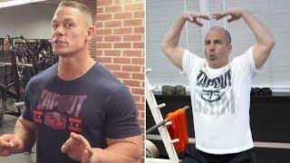 Fight-Size Wrestling Update: John Cena's 'Gym Don'ts', Killer Kinshasas, Mid-Air Reversals, Sasha vs Charlotte Art, More