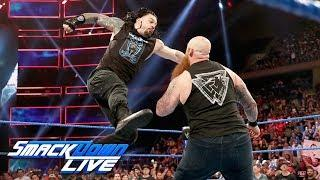 Roman Reigns vs. Erick Rowan Added To 10/4 WWE SmackDown