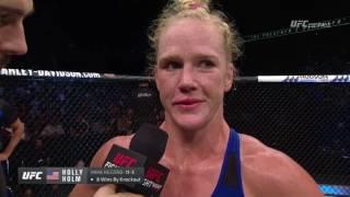 Holly Holm Says Boxing Career Is Over