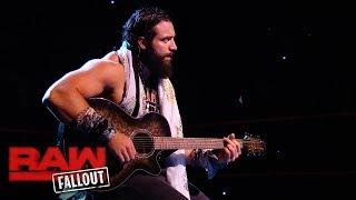 WWE wrestler Elias writes all his own songs that he performs, whether it be on TV or for live events