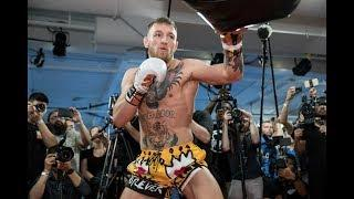 LIVE: Conor McGregor: Media Workout