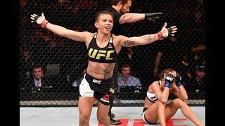Claudia Gadelha Faces Angela Hill At UFC Fight Night: Overeem vs. Harris