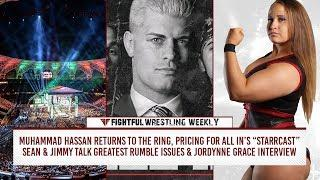 Fightful Wrestling Weekly (5/4): Rousey/Punk, Raw, Smackdown, Muhammad Hassan, UFC Crossover