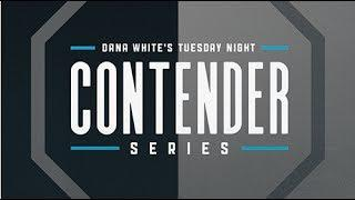 LIVE: Dana White's Tuesday Night Contender Series Week 4: Pre-fight Show