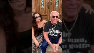 Ric Flair Wants You To Practice Social Distancing: If Not For Yourself, Do It For Others