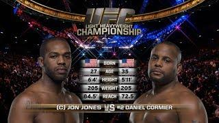 UFC 214 Free Fight: Jon Jones vs Daniel Cormier 1