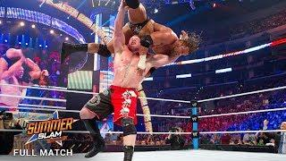 FULL MATCH — Triple H vs. Brock Lesnar - No Disqualification Match: SummerSlam 2012