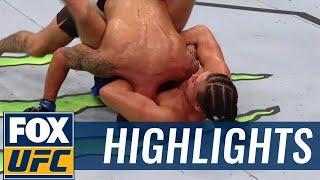See Brian Ortega's UFC 214 Submission Win