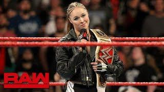 Ronda Rousey Says She Is A Huge Fan Of The Riott Squad And Stephanie McMahon's Heel Work