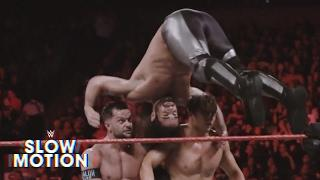 Fight-Size Wrestling Update: Slo-Mo Triple Threat, SmackDown & 205 Live, Backlash Poster, Total Divas, Happy Birthday Rock!