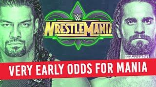 Current WrestleMania 34 Betting Odds