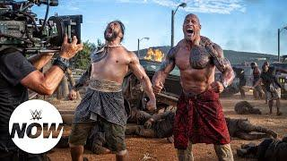 The Rock Shares Story And Video Of Roman Reigns Knocking Out A Cameraman On 'Hobbs & Shaw' Set