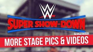 Video: Leaked Photos & Videos Of WWE Super Show-Down Set