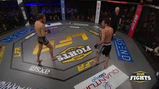 Video: Superkick Finish In MMA Fight At LFA 33