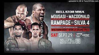 Bellator 206: Quinton 'Rampage' Jackson vs. Wanderlei Silva IV.