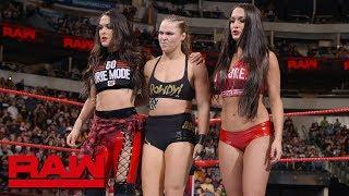 Ronda Rousey Takes On Ruby Riott And Lashley Battles Kevin Owens Next Week On Raw