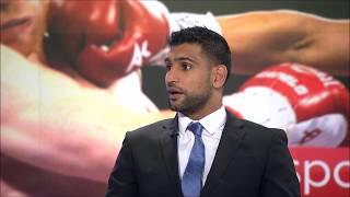 Amir Khan Still Open To Fighting Kell Brook, Manny Pacquiao In The Future