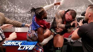 Post-SmackDown Fight-Size Update: Kofi Kingston And Randy Orton Brawl, Miz Challenges Nakamura, More