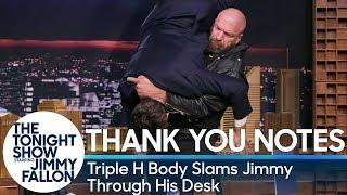 Scott Steiner Says Jimmy Fallon Would Beat Triple H In A Real Fight