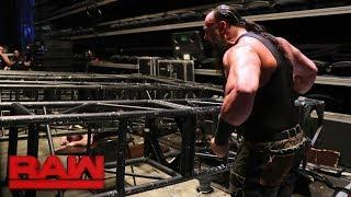 Braun Strowman 'Fired' From WWE Raw, Re-Hired