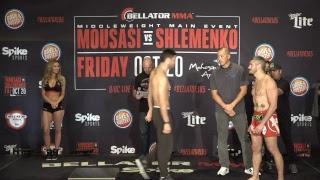 LIVE: Bellator 185 Weigh-Ins