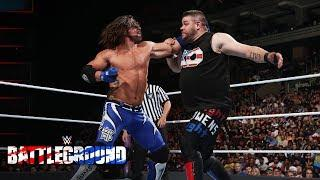 WWE Battleground Finish Didn't Go As Planned
