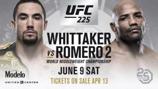 UFC 225 Results: A New Interim Welterweight Champ Is Crowned, Whittaker & Romero Put On A Classic, Plus CM Punk Competes